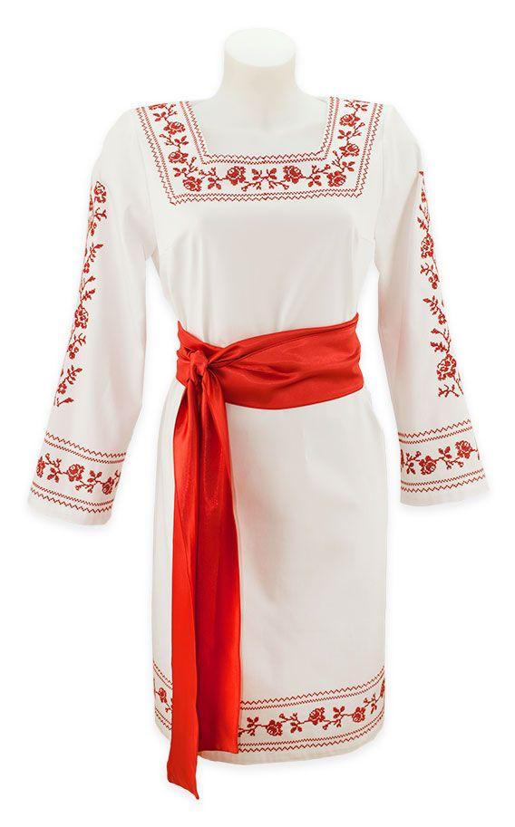 Платье вишиваночка