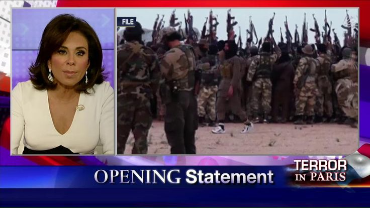"""On last night's """"Justice,"""" Judge Jeanine Pirro said it's time to stop the political correctness and end the growing threat of radical Islamic terror."""