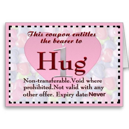 11 best Hug Coupon \ Other Vouchers images on Pinterest Coupon - how to make a voucher