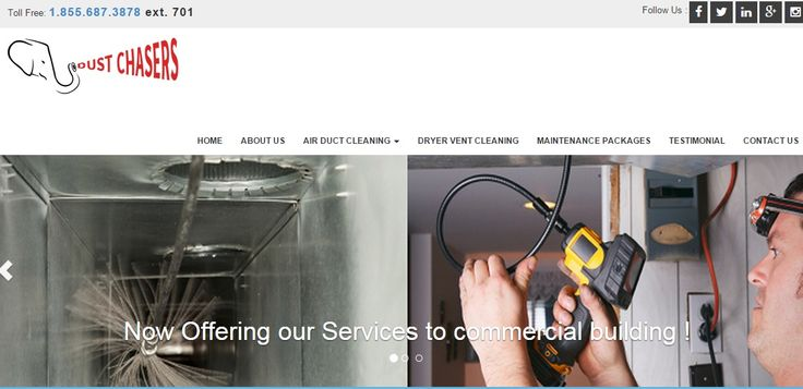 In these days everyone need cleaning services for Air Duct and other equipment's. So, Dustchasers.ca provide these services in Toronto, Canada.