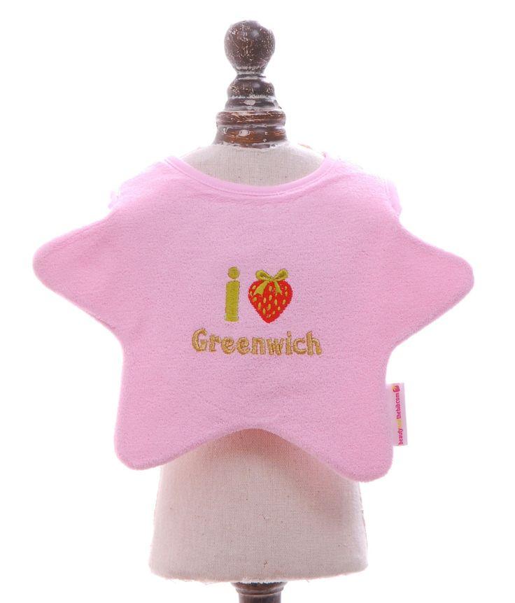 Baby Bib, £9, by 'beauty & the bib',    16 Greenwich Market.  http://www.greenwichmarketlondon.com/shops/detail/beauty-and-the-bib