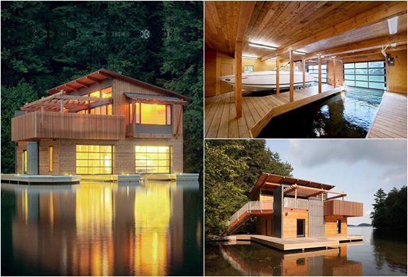 MUSKOKA LAKES BOATHOUSE | BY CHRISTOPHER SIMMONDS: Lakes Boathouse, Dreamhouse Design, Muskoka Lakes, Dream Houses, Space, Architecture Design, Beautifull Places, Christopher Simmonds