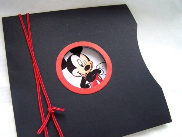 Convite do Mickey, super fofo!