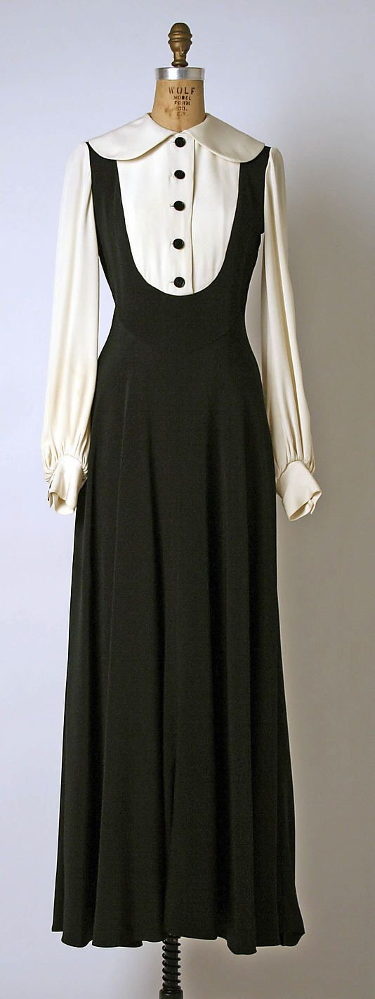 Dress, Evening  Geoffrey Beene (American, 1927–2004)  Date: ca. 1969 Culture: American Medium: synthetics