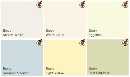 Benjamin moore paint cottage colors paint colors for Country home interior paint colors