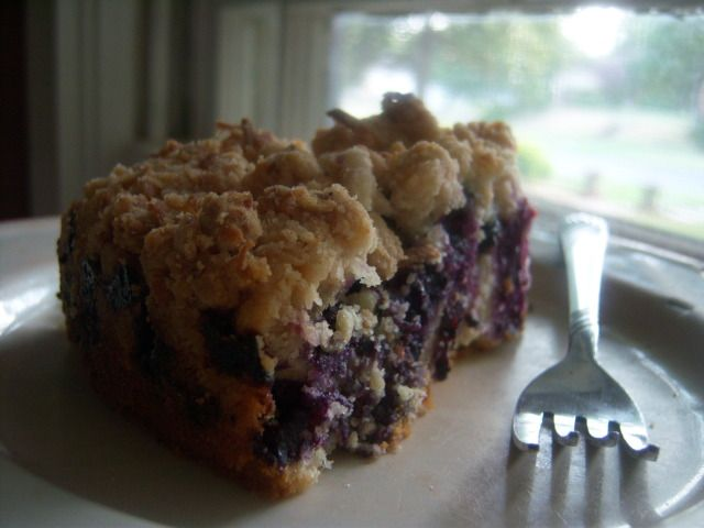 blueberry monster-crumb cake. Can't help it, I have to make it ...