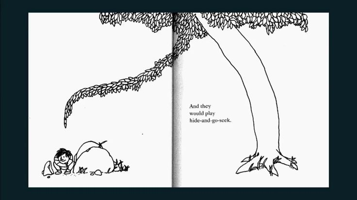 The Giving Tree, a wonderful short story for children