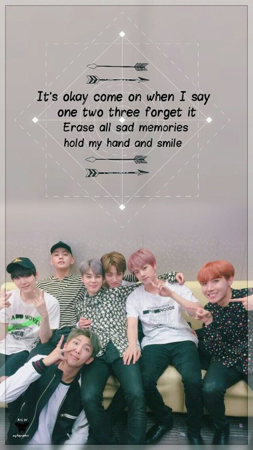"BTS makes me smile I hope they will be happier in the upcoming years and live without regrets ♡ ""je ne regrette riens"""
