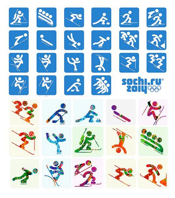 윤강로의 스포츠세상 - Rocky YOON's Sport World :: 동계올림픽 픽토그램(Pictogram)과 대회문양/모습(Look of the Games)