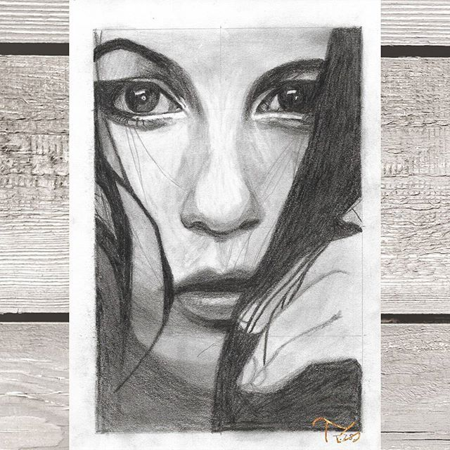 #art #drawing #drawings #drawingart #graphitedrawing #graphiteart #pencil #instaarts #woman #women #faces #eyes