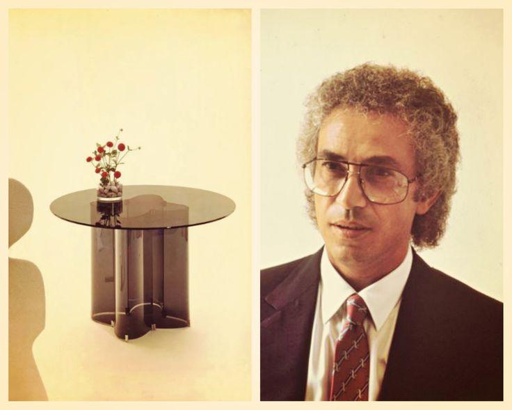 Quadrifoglio coffee table, design Vittorio Livi, 1973. #Fiam #VittorioLivi #Quadrifoglio #Coffeetable #madeinitaly #furniture #glass #interiordesign #design www.fiamitalia.it/