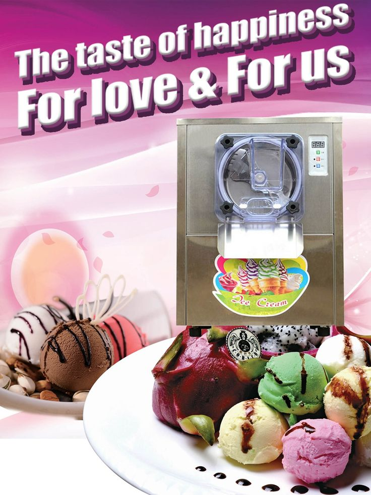 Application:  ice, a rage fashion cold food in contemporary. The production of simple, practical and inexpensive, and can be freely modulated according to different tastes, combined with a variety of fruits,   #flavor ice cream machine #ice cream machine #ice cream maker #soft ice cream maker