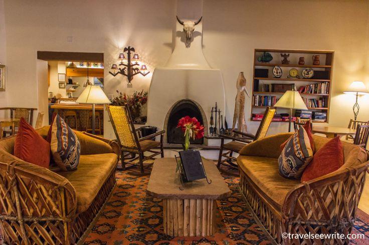 Plush interiors of Inn on The Alamada Hotel, Santa Fe, New Mexico