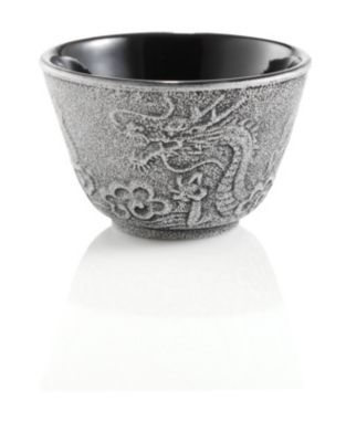 Imperial dragon japanese cast iron tea cup same but black with gold trim decorbyme debbie - Imperial dragon cast iron teapot ...