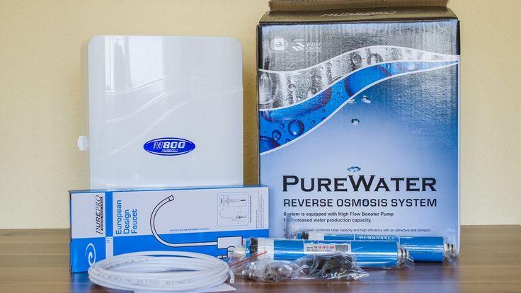 PurePro M800DF tartály nélküli fordított ozmózis rendszerű vízszűrő További információ: http://www.viztisztitomarket.hu/purepro-m800df  http://www.vizszurok.hu/m500-forditott-ozmozis-rendszeru-viztisztito-t406599