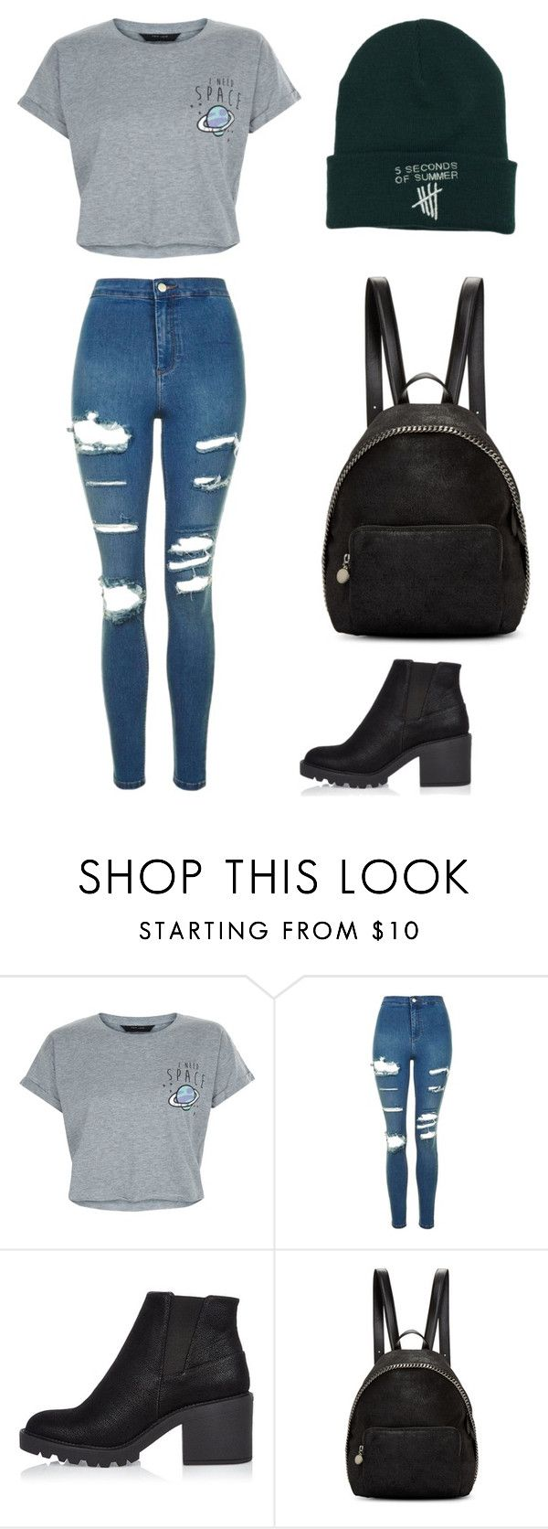 """Untitled #206"" by karenrodriguez-iv on Polyvore featuring New Look, Topshop, River Island and STELLA McCARTNEY"