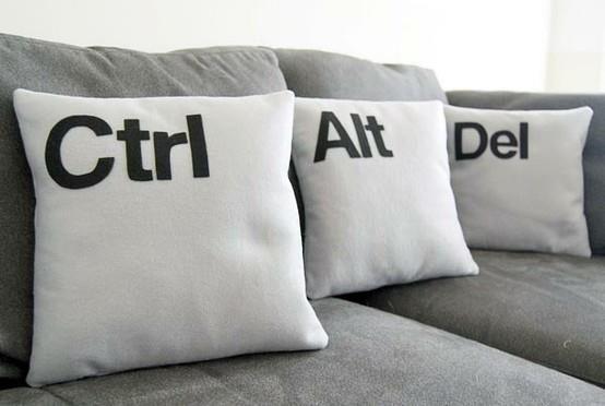 Até a informática pode ser inspiração para ambientes modernos e descontraídos!