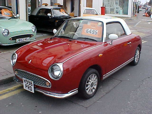 Nissan Figaro - dream car...
