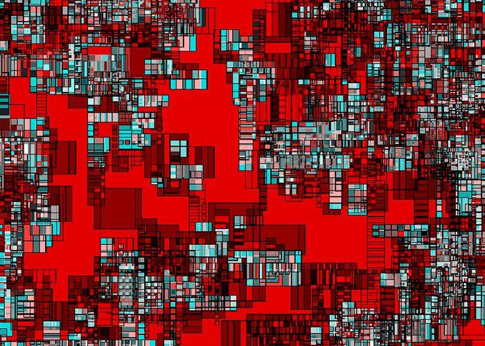 Frank Richter, overlapping set 05.1004.01, c-print, 2008 (generative art)