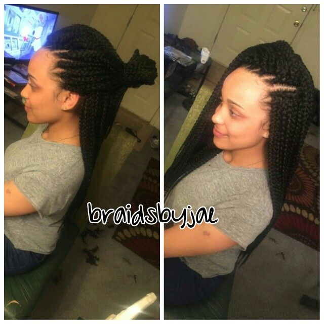 Make Your Own Crochet Box Braids : Crochet box, Box braids and Braids on Pinterest