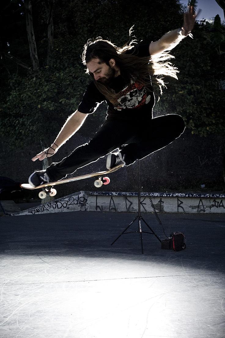 Chris Haslam. Favorite skateboarder. Wish i had his skills.
