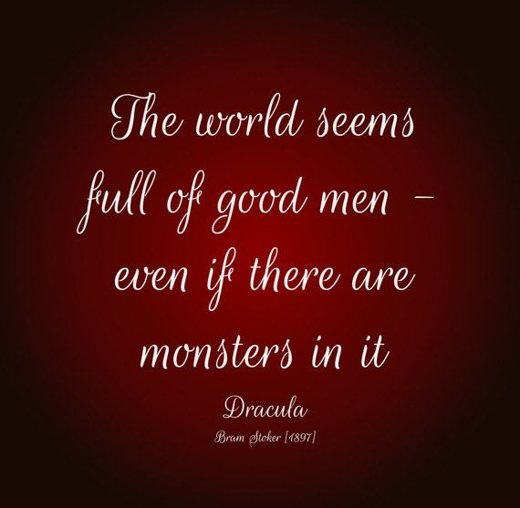 Quote from Dracula by Bram Stoker Instant by DelilahStreet on Etsy