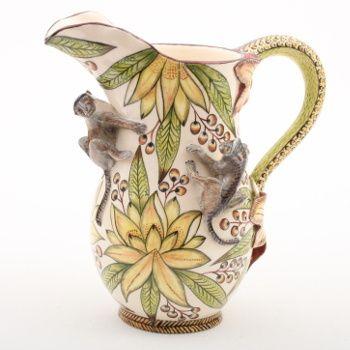 Ardmore ceramics: Monkey Jug AAA