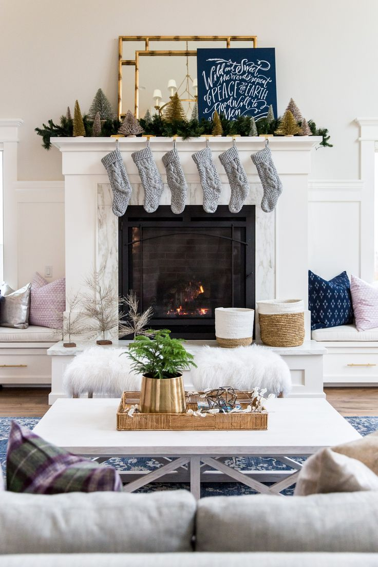 The best images about mantel on pinterest christmas home