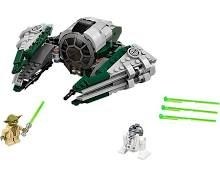 LEGO Systems, Inc. LEGO Star Wars Yodas Jedi Starfighter - 673419265751 - Fat Brain Toys