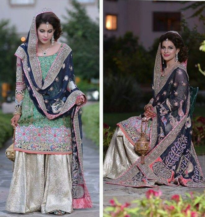 Pakistani bridal by House of Kamiar Rokni.