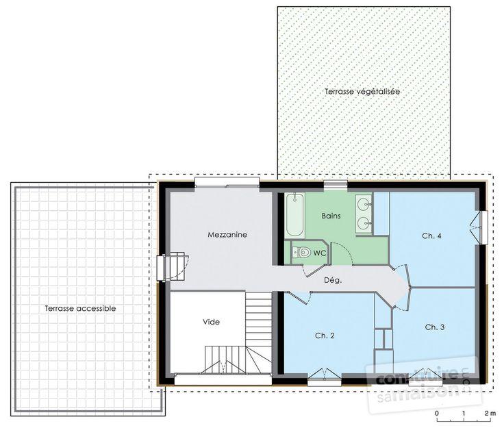 17 meilleures id es propos de plan maison etage sur - Maison a energie positive prix ...
