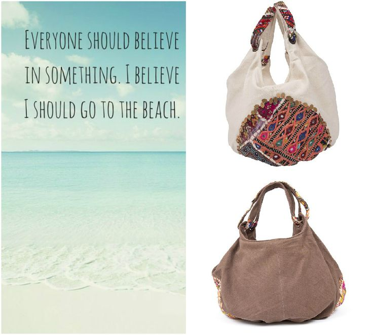Buon fine settimana ragazze! Per i weekend al mare ecco le nostre borse da spiaggia!  Have a nice weekend guys! For your Sundays on the shore, here you have our beach bags!