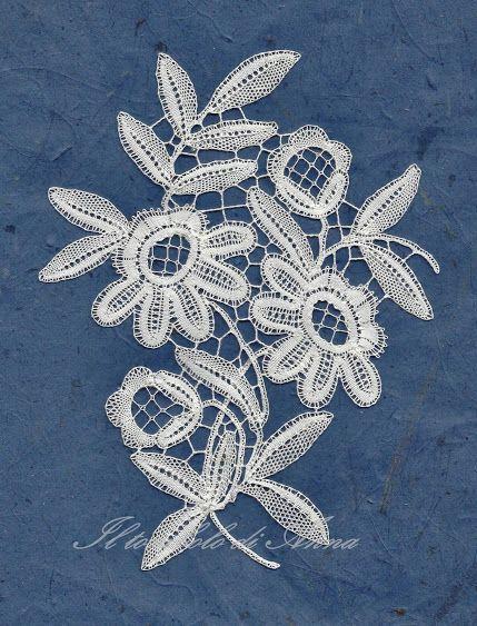 Anna's lace. modern duchesse