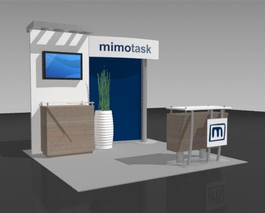 Portable Exhibition Booth Design : Portable promotional kiosks make trade show marketing high