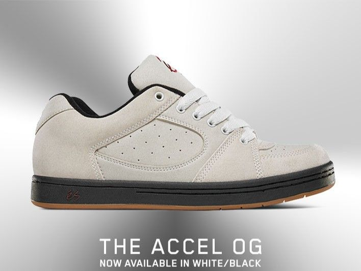 The eS Accel OG shoe available now in