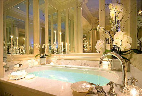 : Bathroom Design, Luxury Bathroom, Romantic Bathroom, Dreams Bathroom, Dreams House, Beautiful Bathroom, Bubbles Bath, Bathroom Shower, Master Bathroom