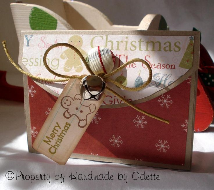 Gift Card Holders For Christmas