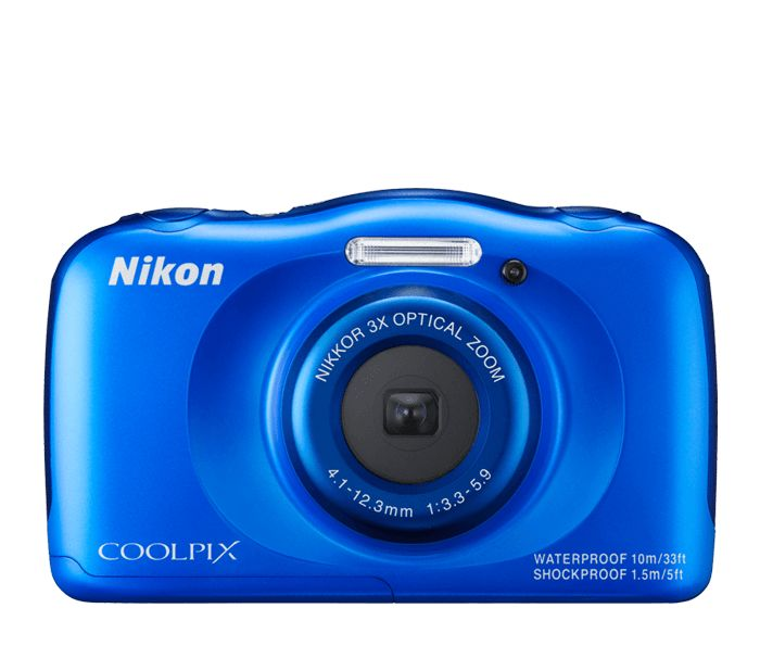 Waterproof, shockproof, freezeproof. Nikon Coolpix S33