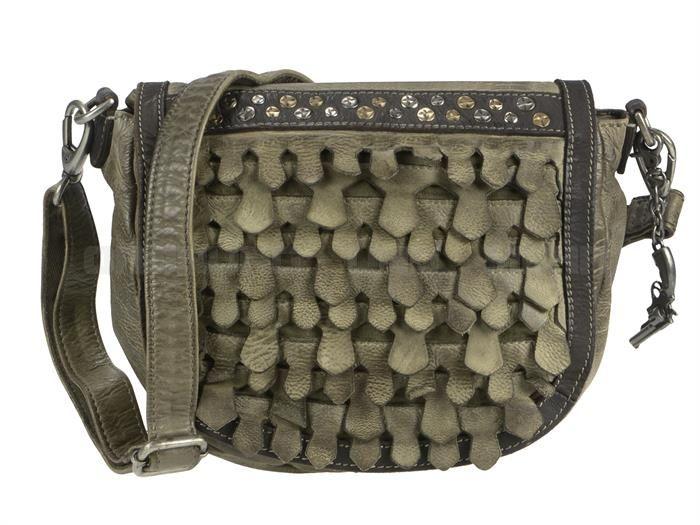 Billy The Kid REPTILE - Leder Schultertasche Saddle Bag  Umhängetasche - 5 Farben