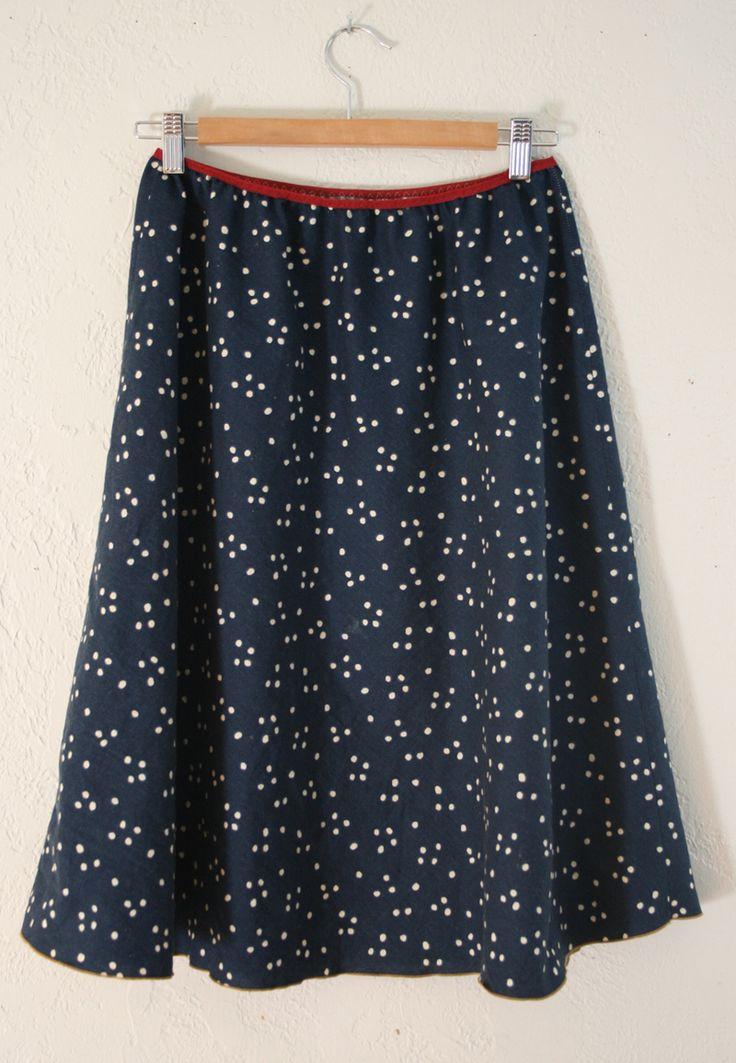 DIY: 5-minute skirt