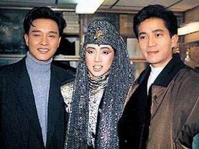 Three GREATS ....Anita Mui, Leslie Cheung, and Danny  Chan