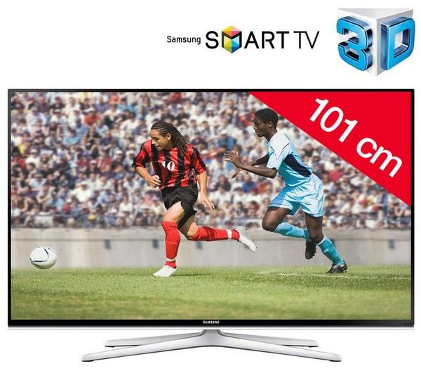 SAMSUNG UE40H6500 - 3D LED-televisie Smart TV   HDMI 1.4-kabel F3Y021BF2M - 2 m | €386.15