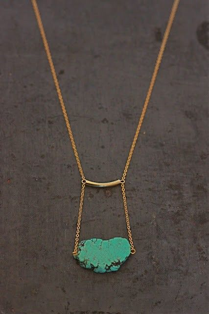 Collier turquoise