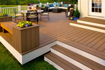 Composite deck design ideas with most popular diy makeovers and best building materials.