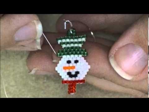 Free Brick Stitch Seed Bead Patterns - http://www.guidetobeadwork.com/wp/2013/02/free-brick-stitch-seed-bead-patterns-4/