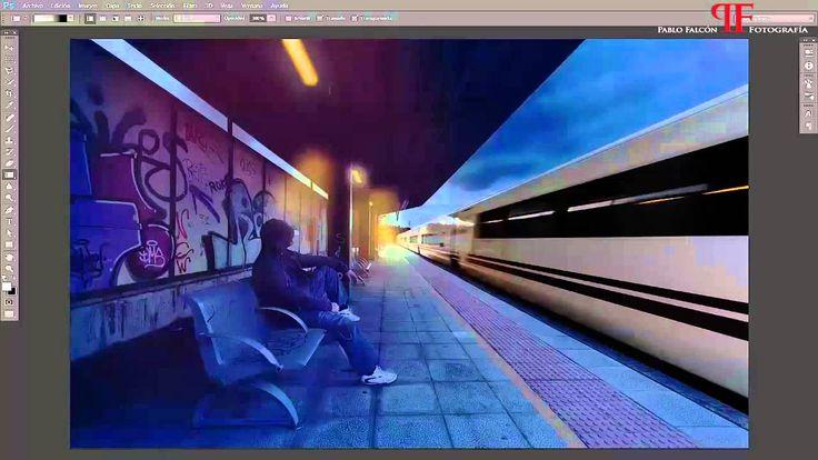 Speed Art - La Estación (The Station).