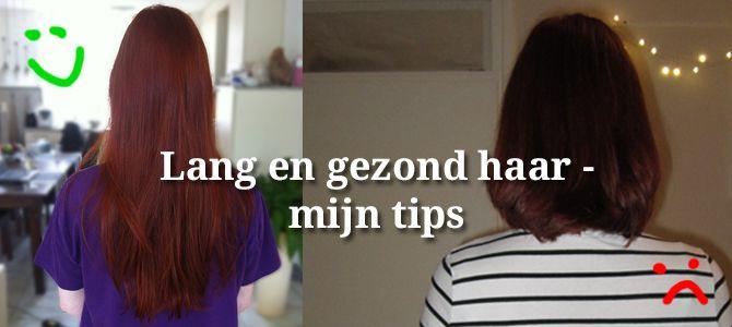 Lang en gezond haar - mijn tips