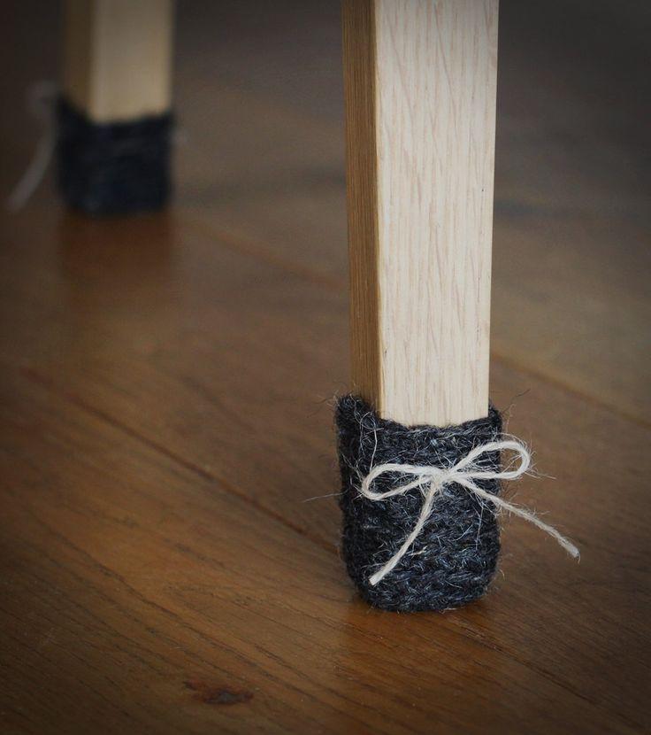 les 25 meilleures id es de la cat gorie chaussettes de chaise sur pinterest stockage crochet. Black Bedroom Furniture Sets. Home Design Ideas