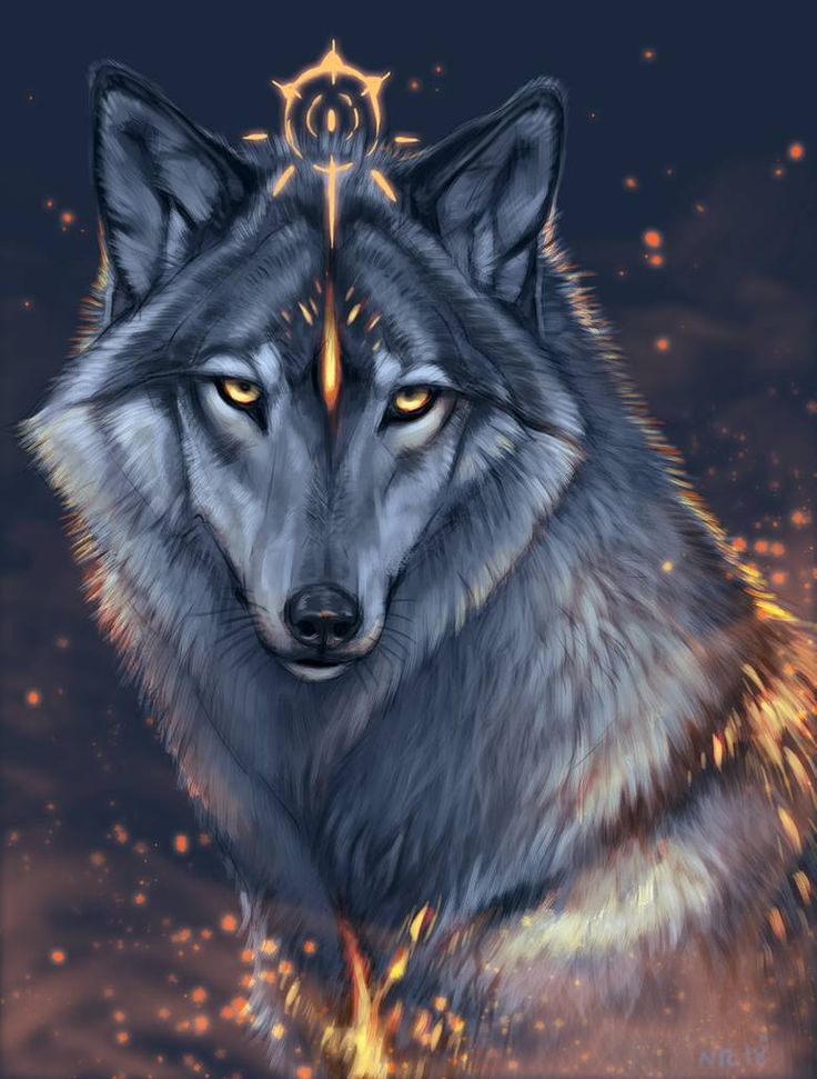 Картинки на аву красивые волки