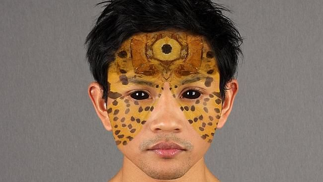 Owen Leong's Budi (from the series Birthmark) 2010. This work is part of the Made in Chin